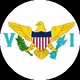 Flag of U.S. Îles Vierges